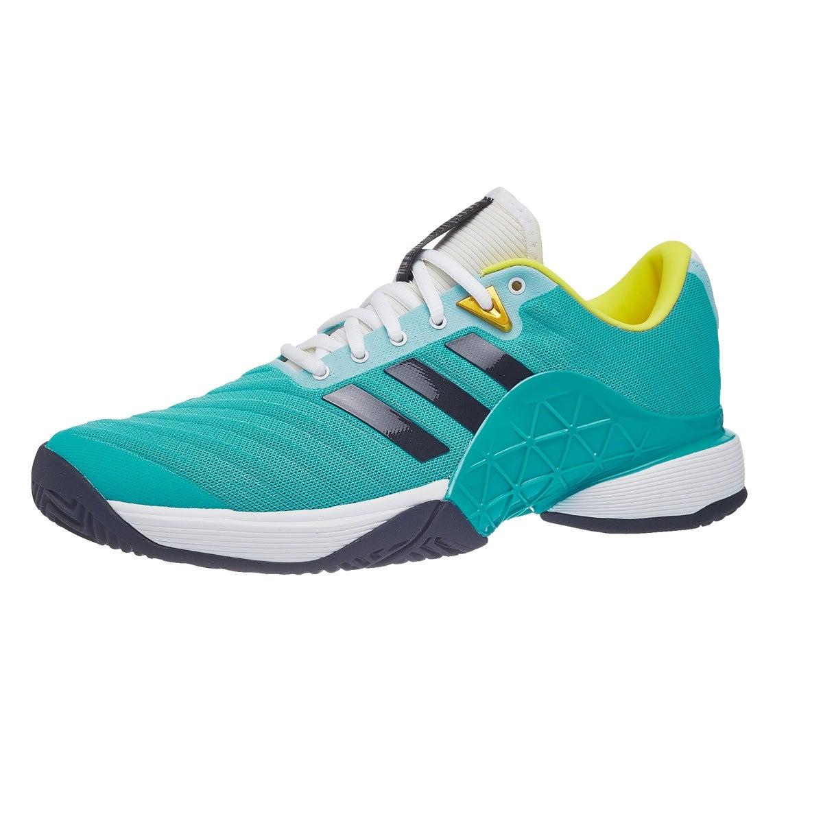 quality design f8752 88d05 adidas Barricade 2018 AquaInk Mens Shoes 360° View