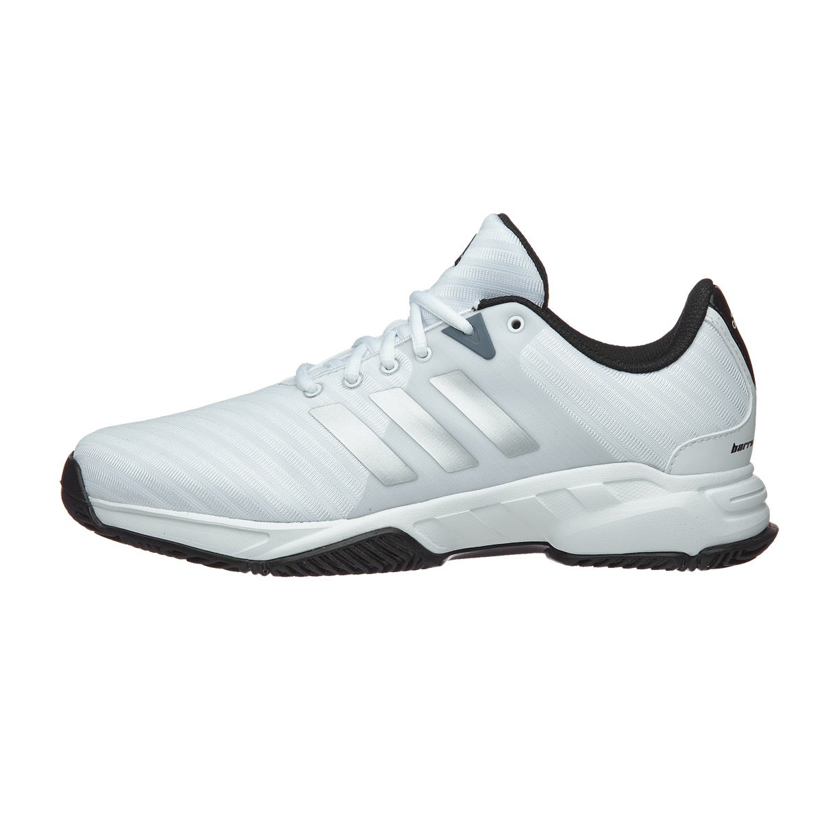 adidas Barricade Court 3 Wide White/Silver Men's Shoes 360 ...