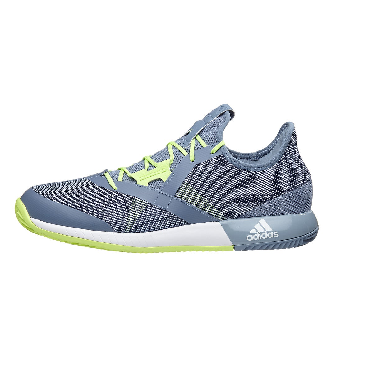 adidas adizero Defiant Bounce Grey/Yellow Men's Shoes 360
