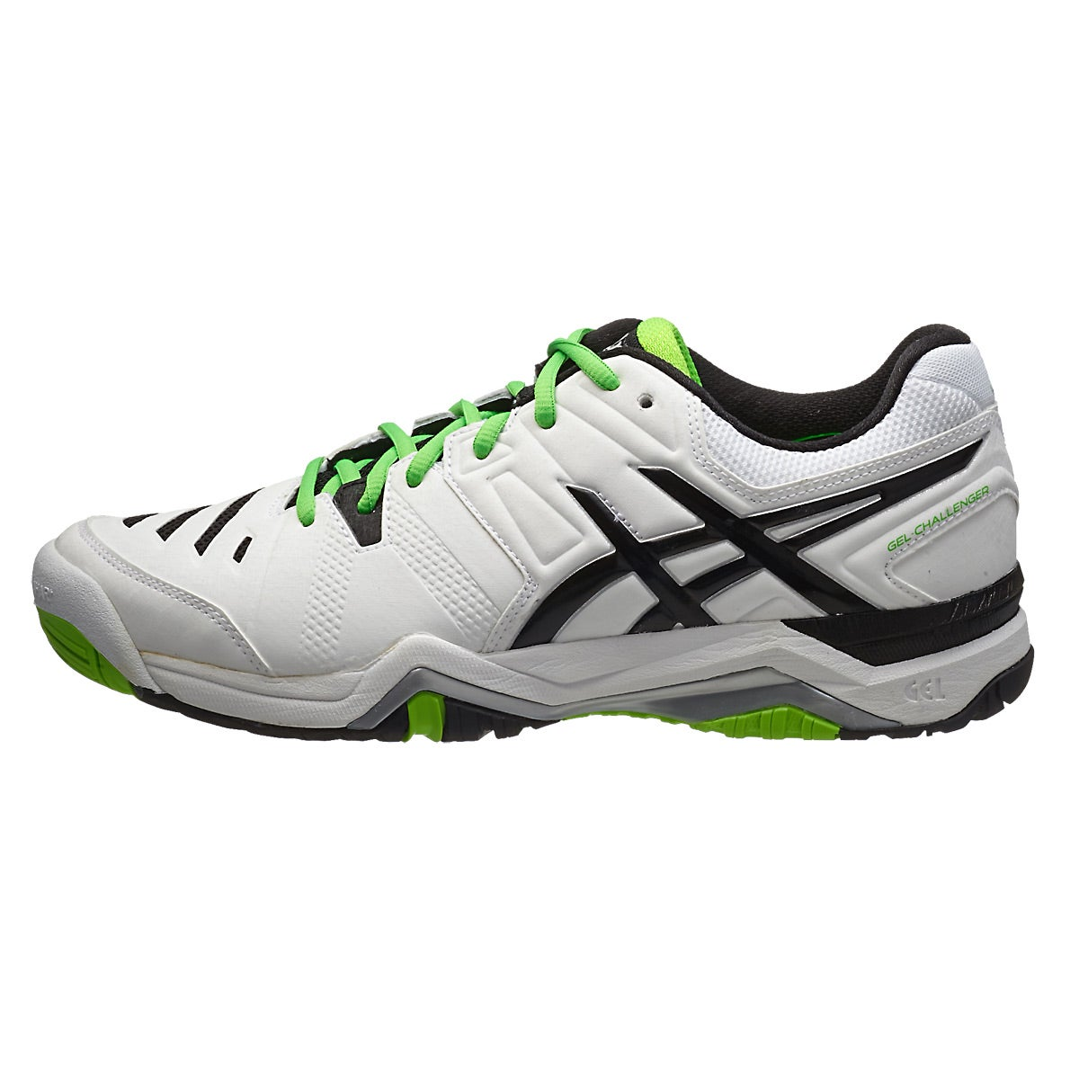Green And Black Tennis Shoes
