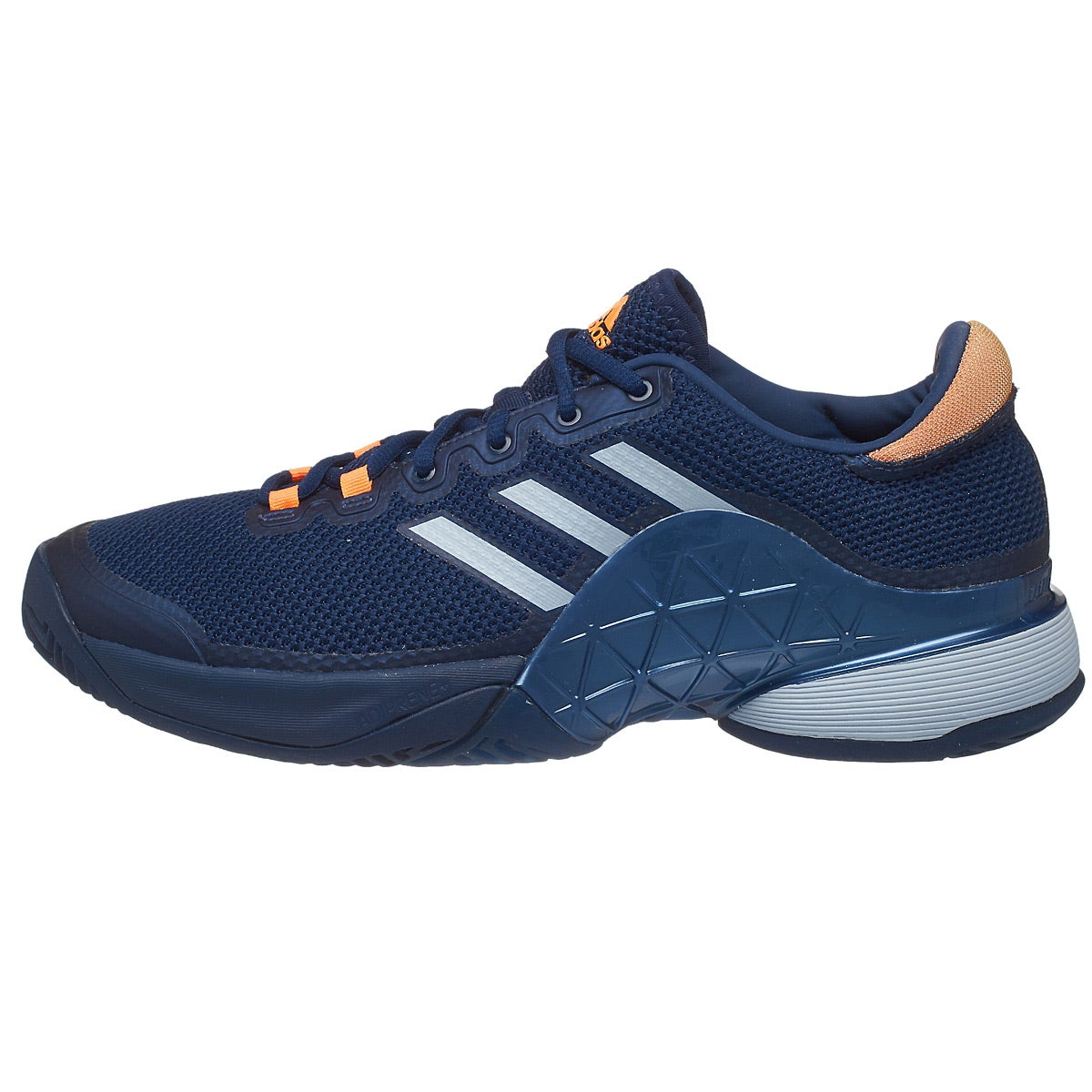 Orange Shoe Men
