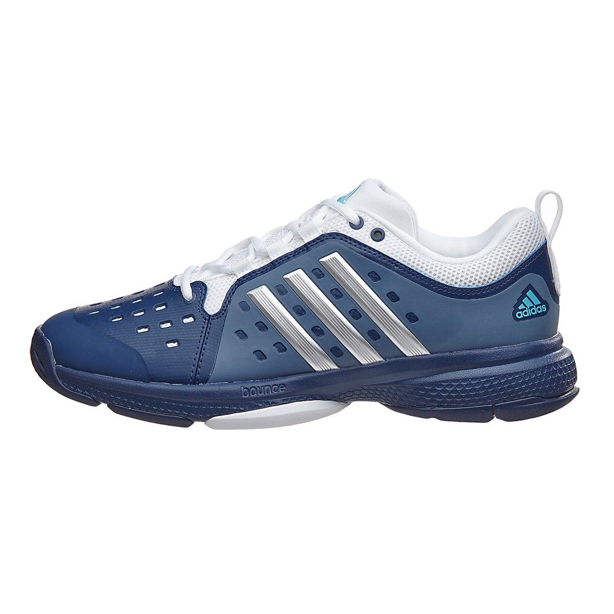 Adidas Barricade Classic Bounce Bl Si Wh Men S Shoe
