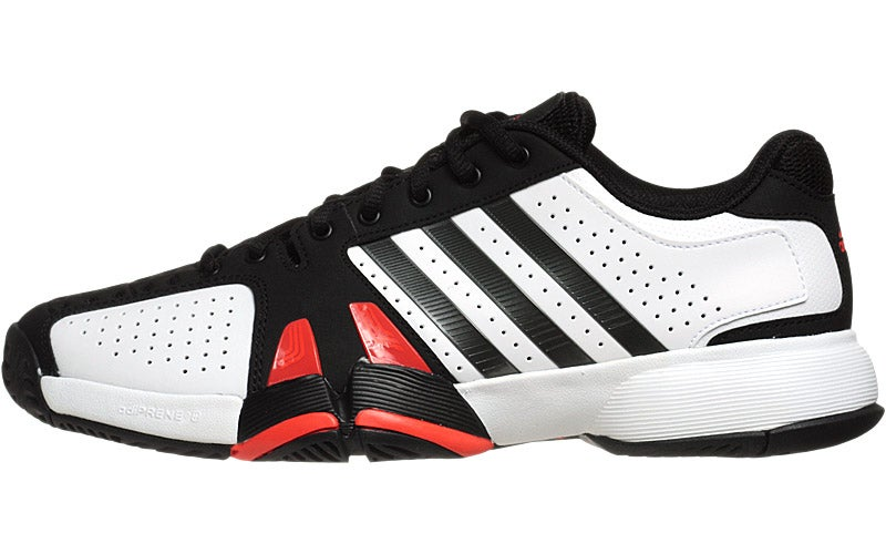 adidas Barricade Team 2 Wh/Black Men's Shoe 360° View