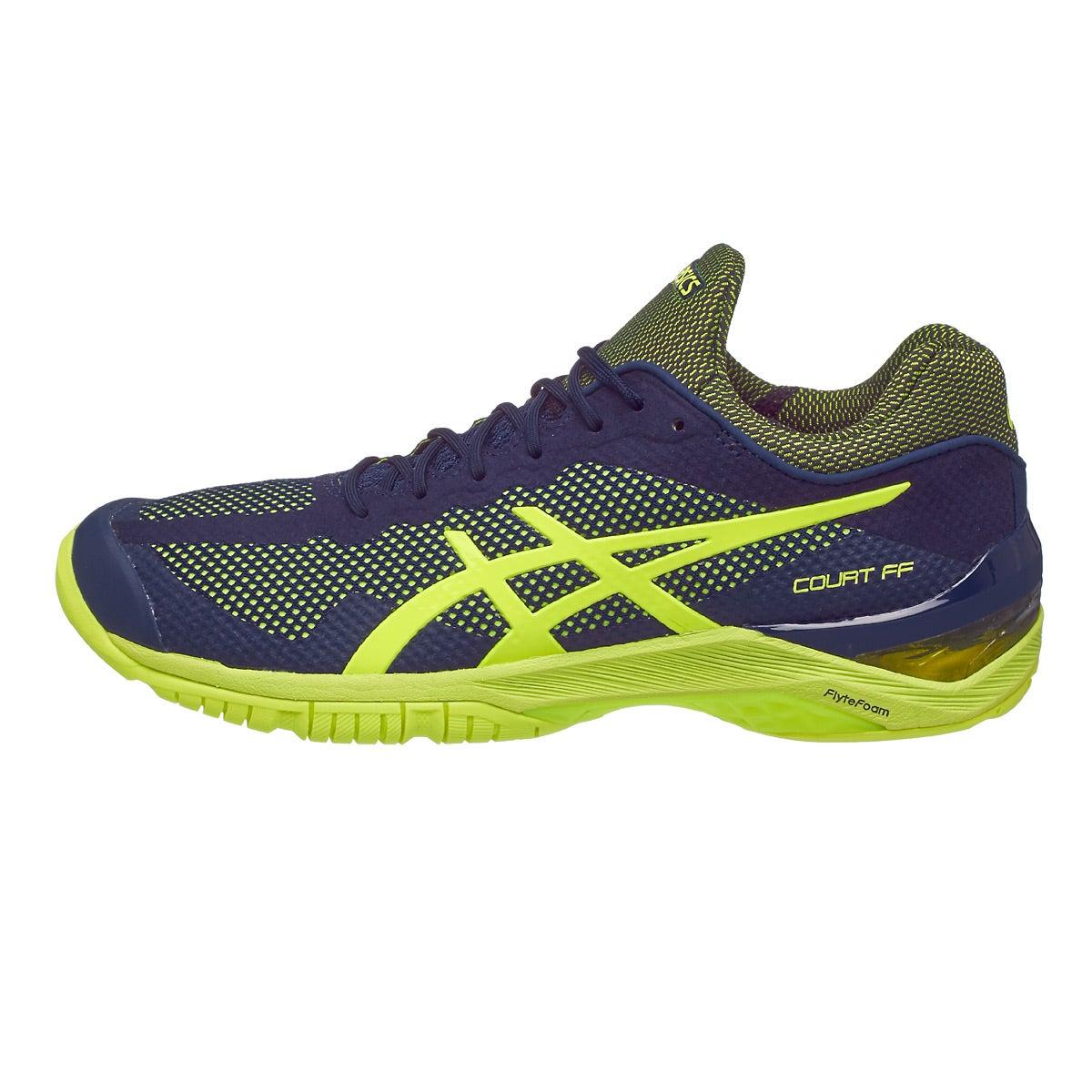 Blue Asics Tennis Shoes