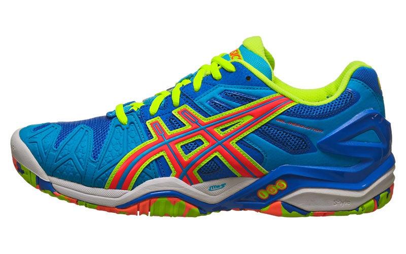 tennis shoes asics gel resolution 5