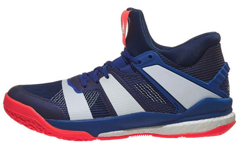 newest 57a8f b30cd adidas Stabil X Mid Men's Shoes - Blue/Red 360° View