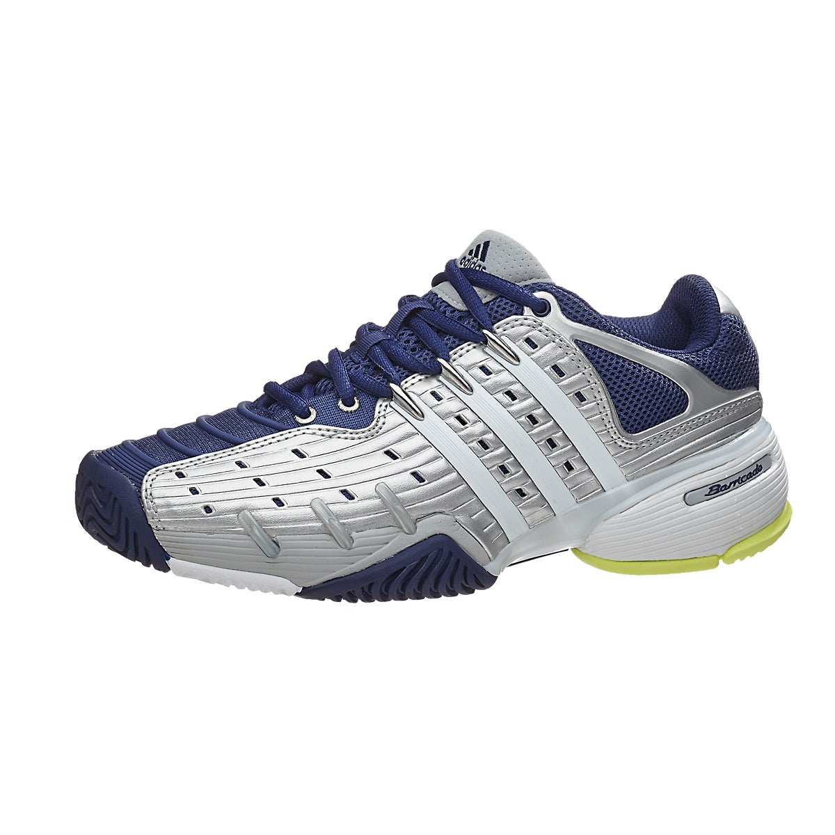 adidas barricade v classic silver/yellow womens shoes