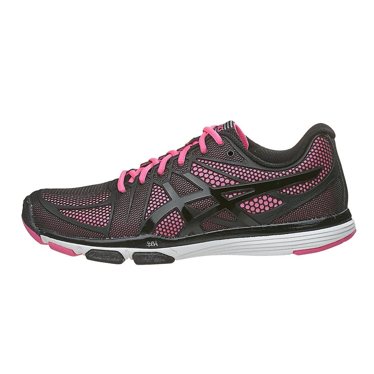 Asics Gel Exert TR Black/Pink Women's Shoes 360° View