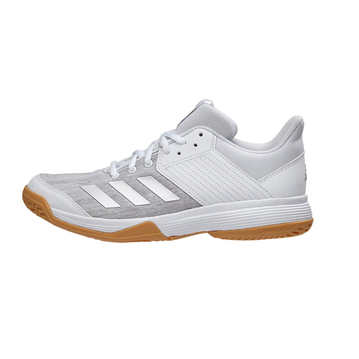 f0fa1fc3a59 adidas Ligra 6 Women s Shoes - White Silver 360° View.