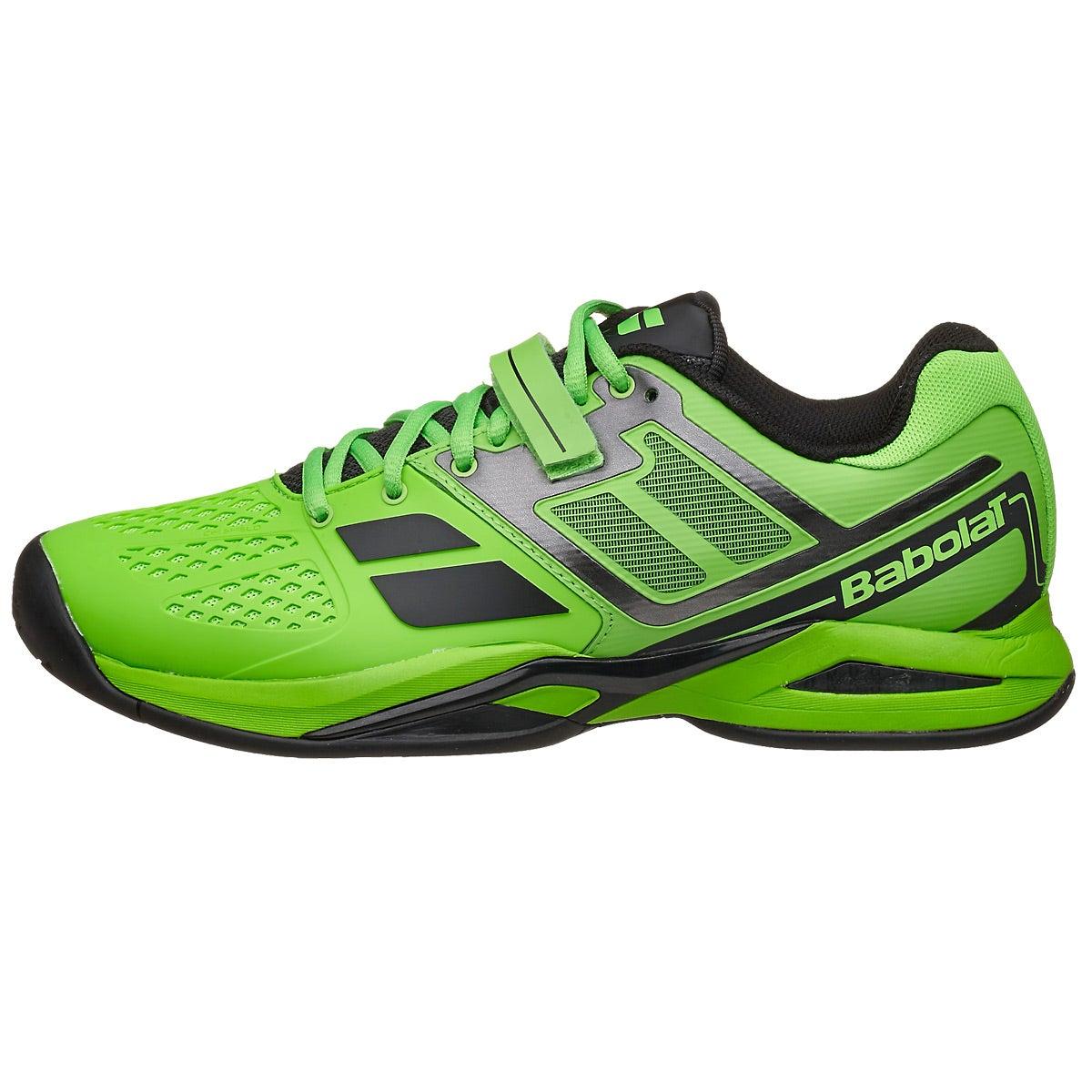Babolat Tennis Shoes >> Babolat Propulse BPM All Court Lime Green Men's Shoe 360° View