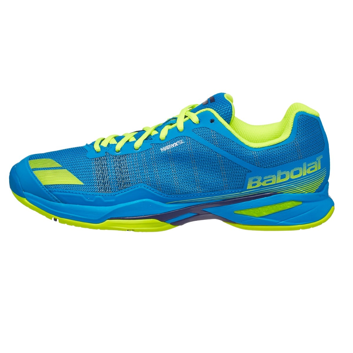 Babolat Tennis Shoes >> Babolat Jet Team Blue/Yellow Men's Shoes 360° View