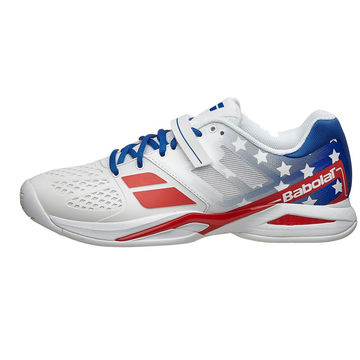 Babolat Tennis Shoes >> Babolat Propulse All Court Stars & Stripes Men's Shoes 360° View