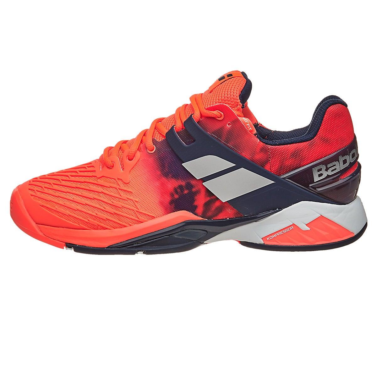 Babolat Propulse Fury Fluro Red Men S Shoes