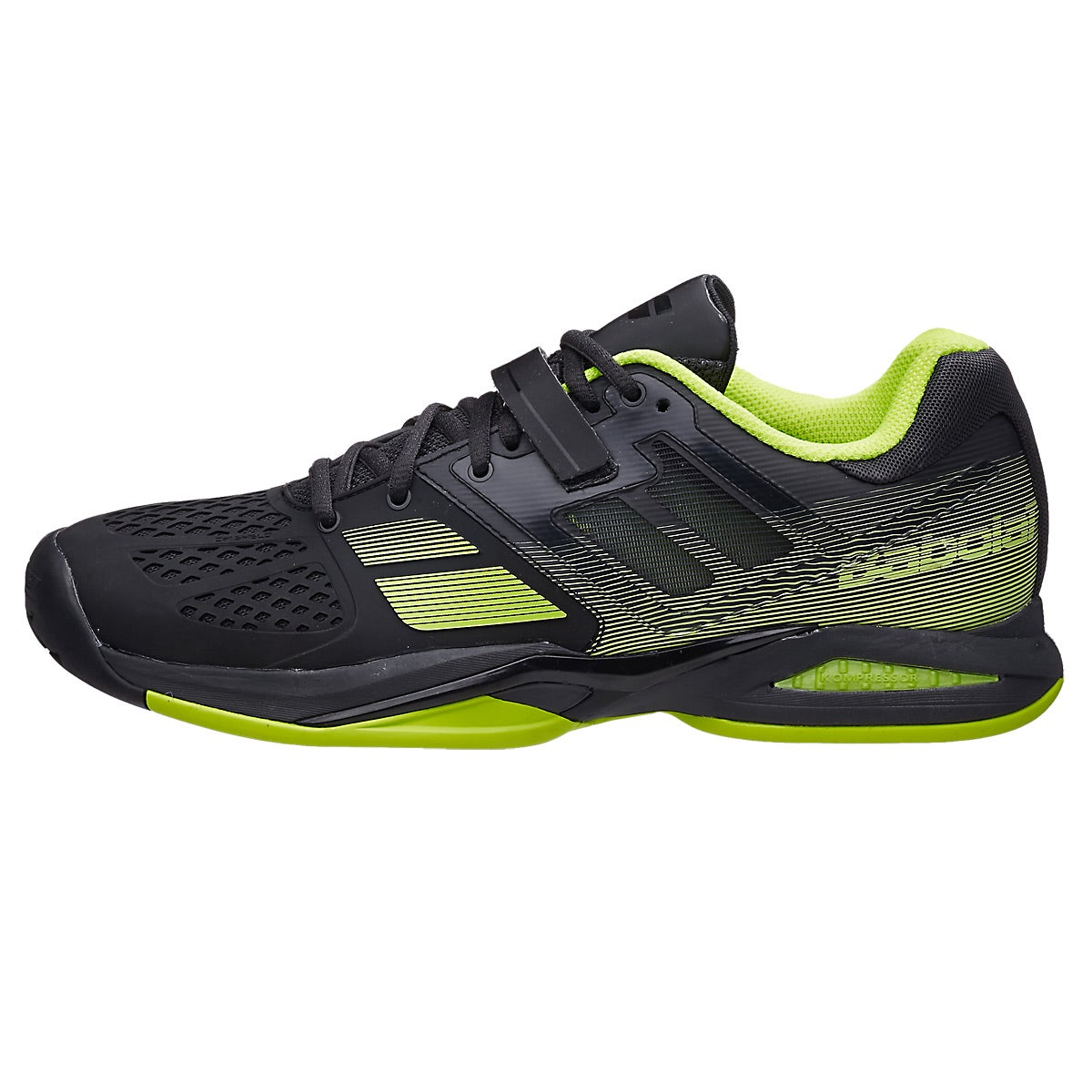 Babolat Tennis Shoes >> Babolat Propulse All Court Yellow Women's Shoes 360° View