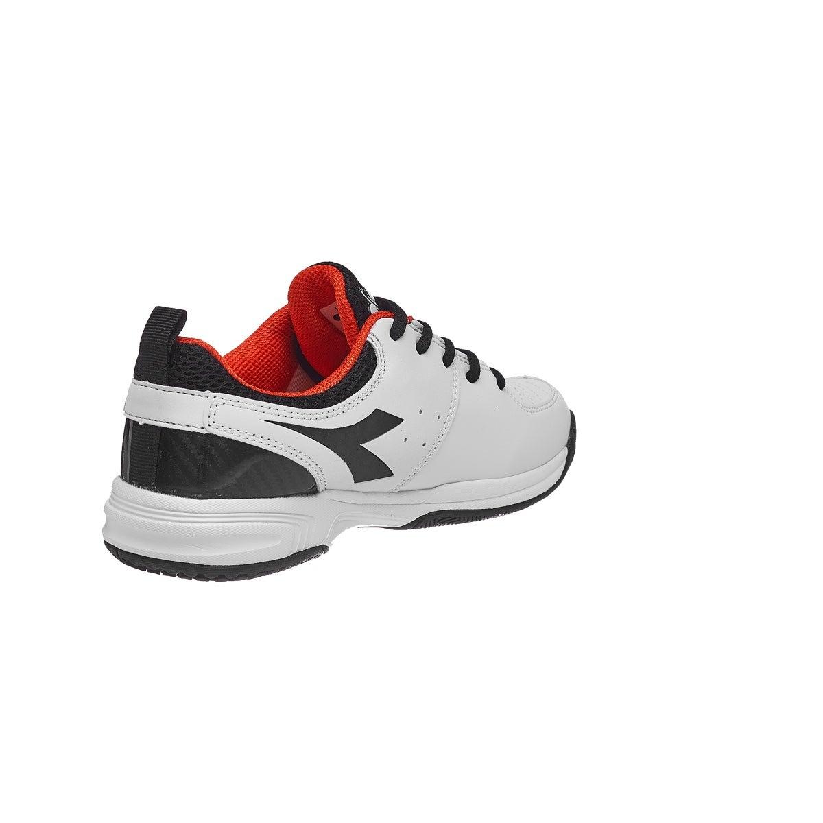 45f42030 Diadora S.Fly 2 White/Black Junior Shoes 360° View