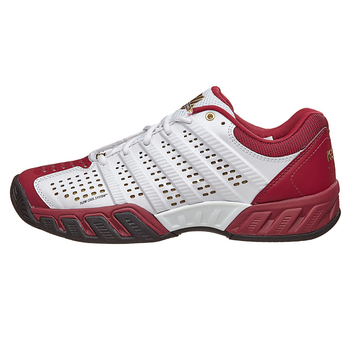 Kswiss Bigshot Light 2 5 50th White Red Men S Shoes 360 176 View