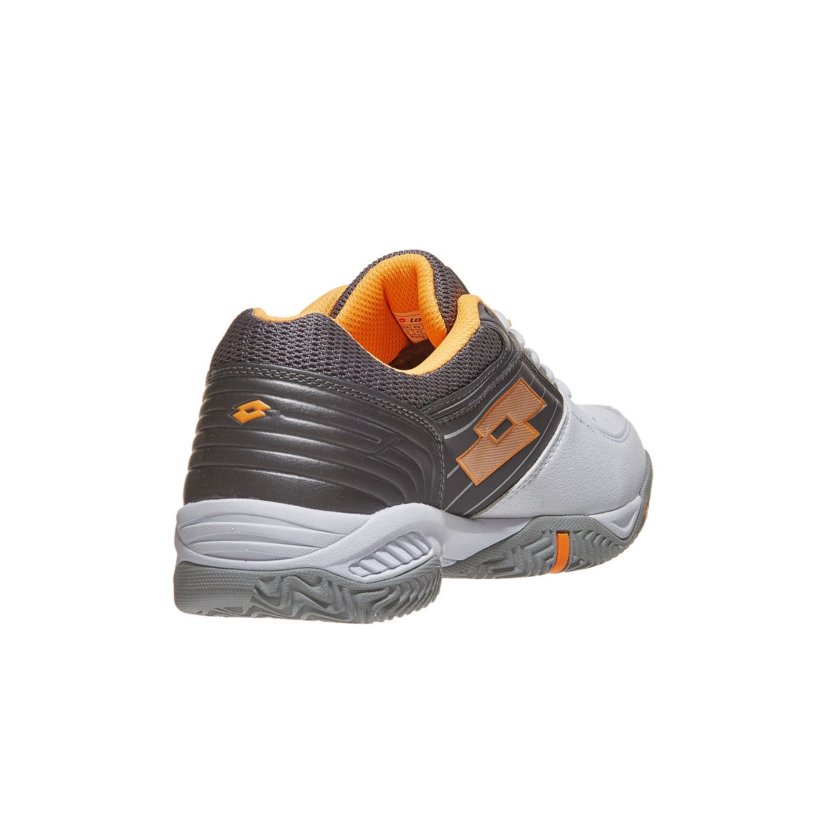 new style ffc5a e4024 Lotto T-Tour 600 X White Grey Orange Men s Shoe 360° View