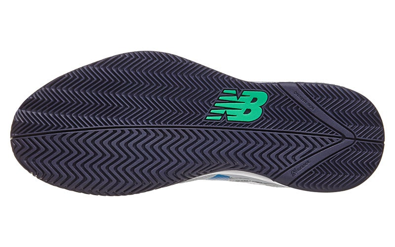 New Balance MC 786v2 D White/Electric Blue Men's Shoes 360