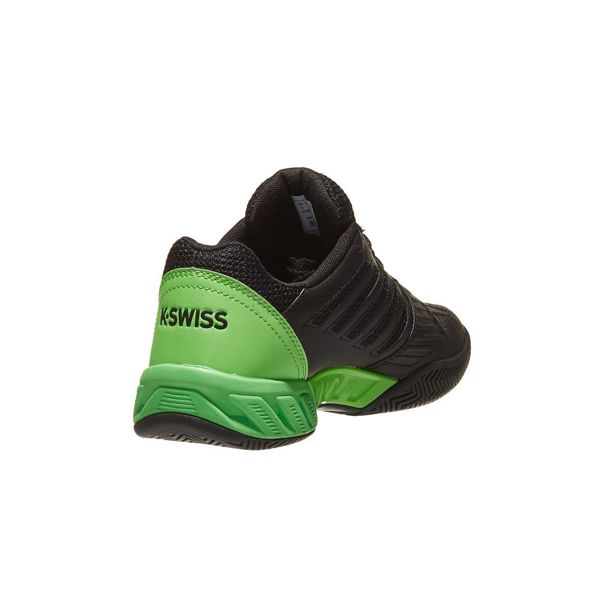 bc54ca2b8c370 KSwiss Bigshot Light 3 Black/Neon Lime Men's Shoes 360° View