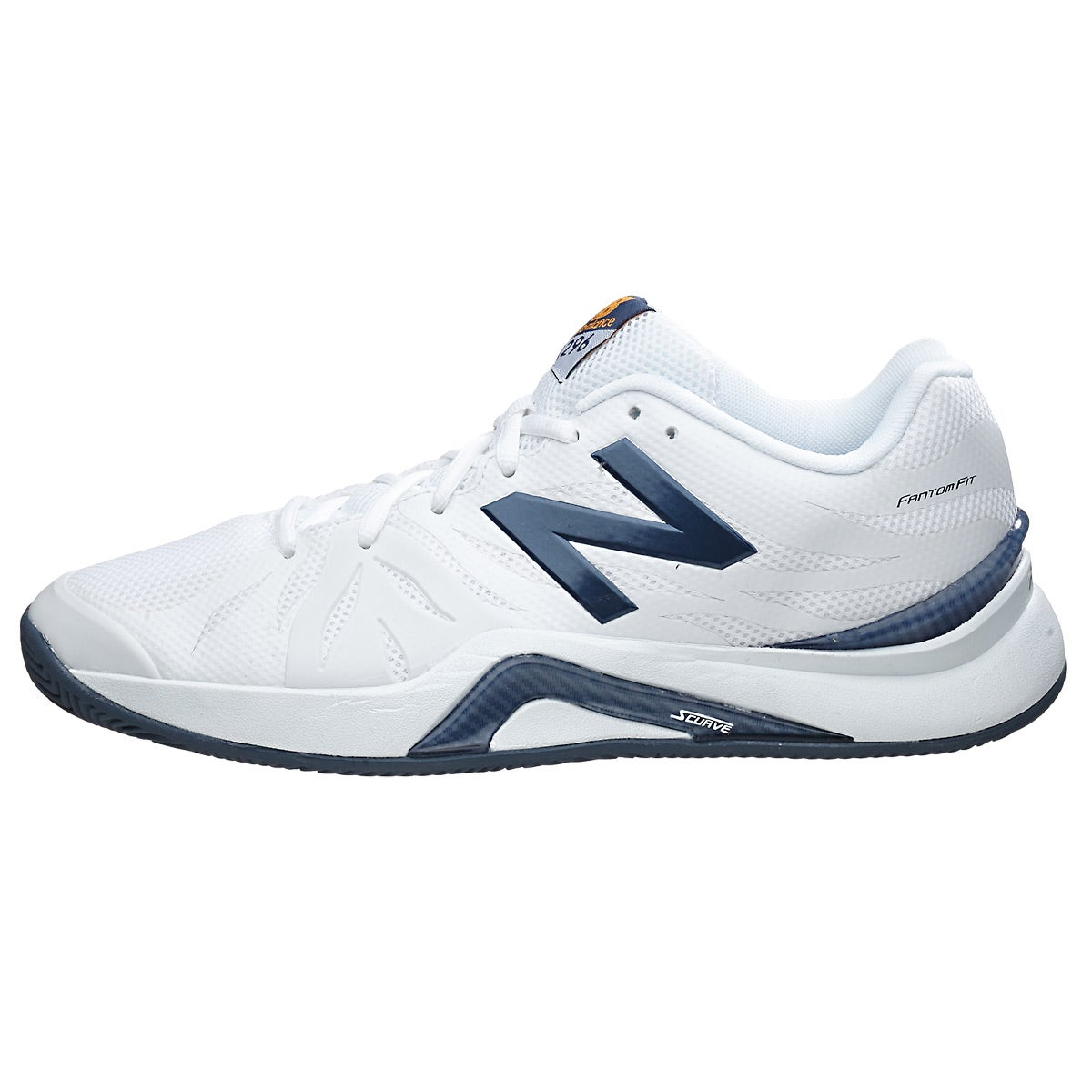 White And Blue New Balance Shoes