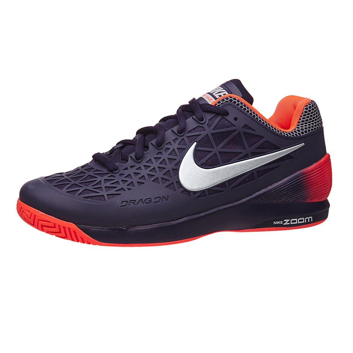 sports shoes bd5f5 7f1fe ... italy winflo 2 black orange white nike zoom cage 2 purple crimson silver  . e1ee5 e214f