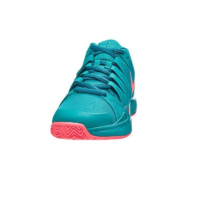 Nike Zoom Vapor 9 5 LG Emerald/Lava Men's Shoe 360° View