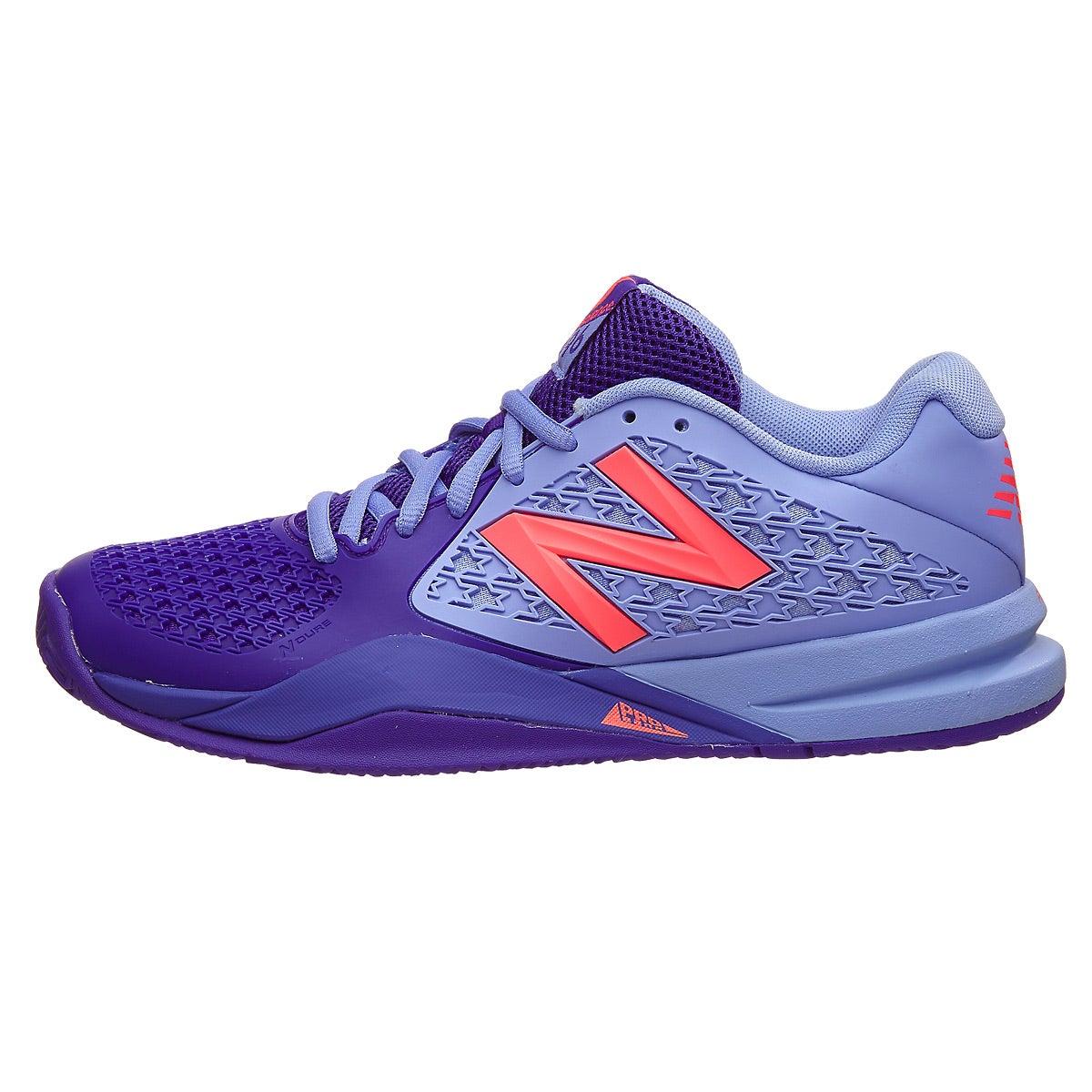 New Balance WC 996v2 B Spectral Blue/Pink Women's Shoe 360 ...