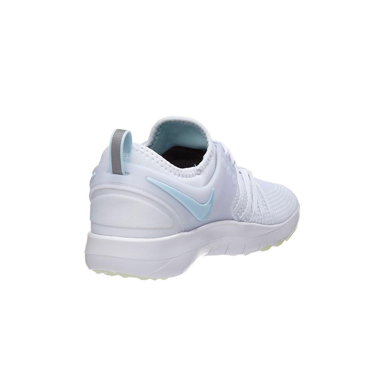 6819fd9cdaaa3 Nike Free TR7 Reflect White Glacier Blue Women s Shoe 360° View