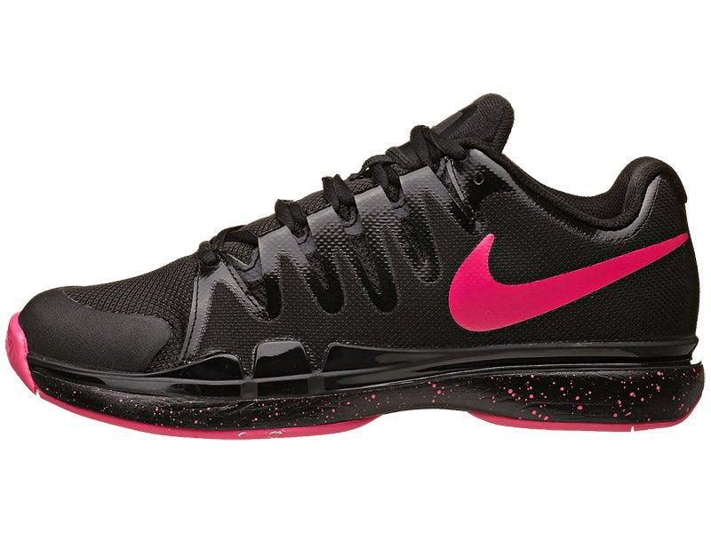 Nike Zoom Vapor 9.5 Tour Black/Hyper Pink Women\u0027s Shoe 360� View.