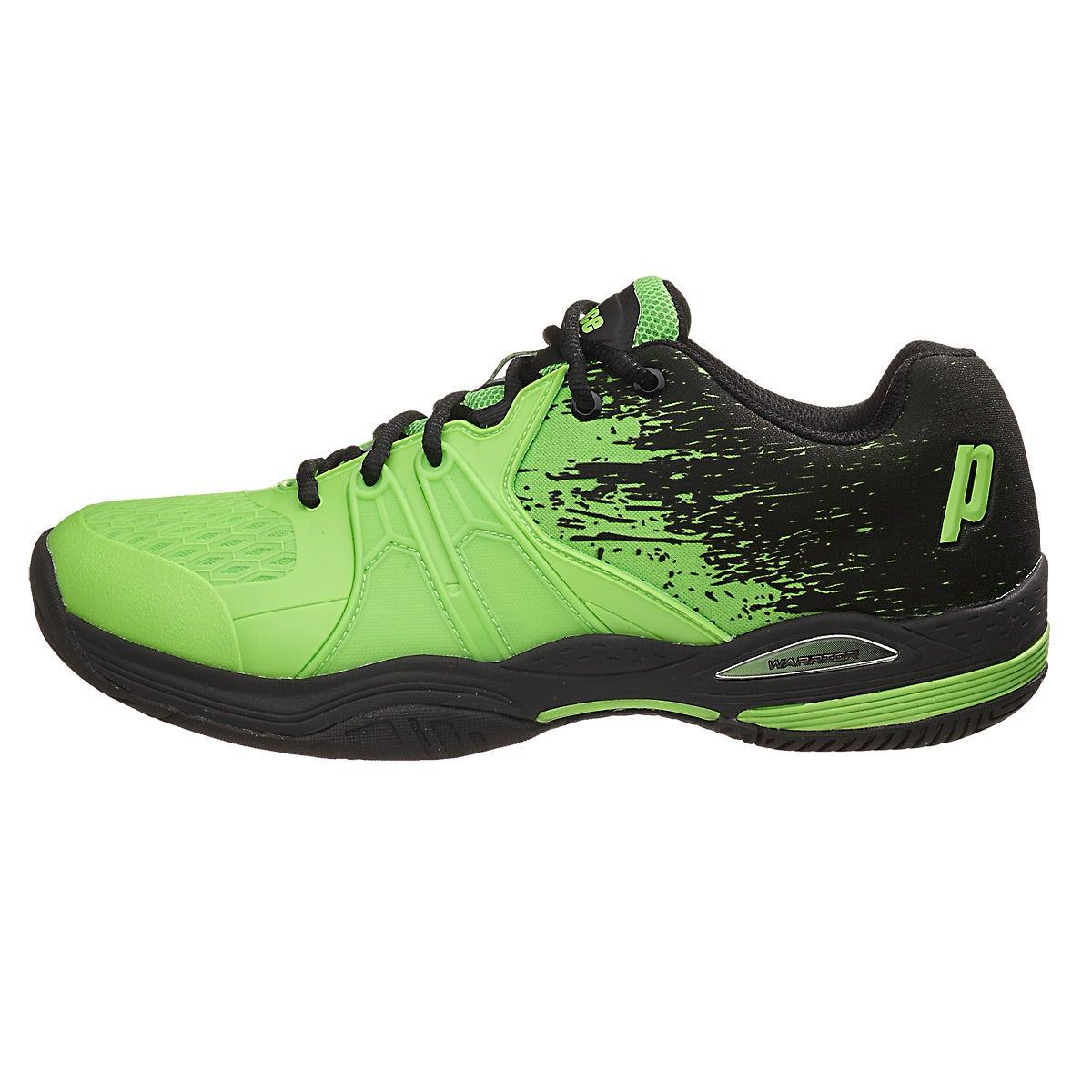 Prince Warrior Lite Green Black Men S Shoe