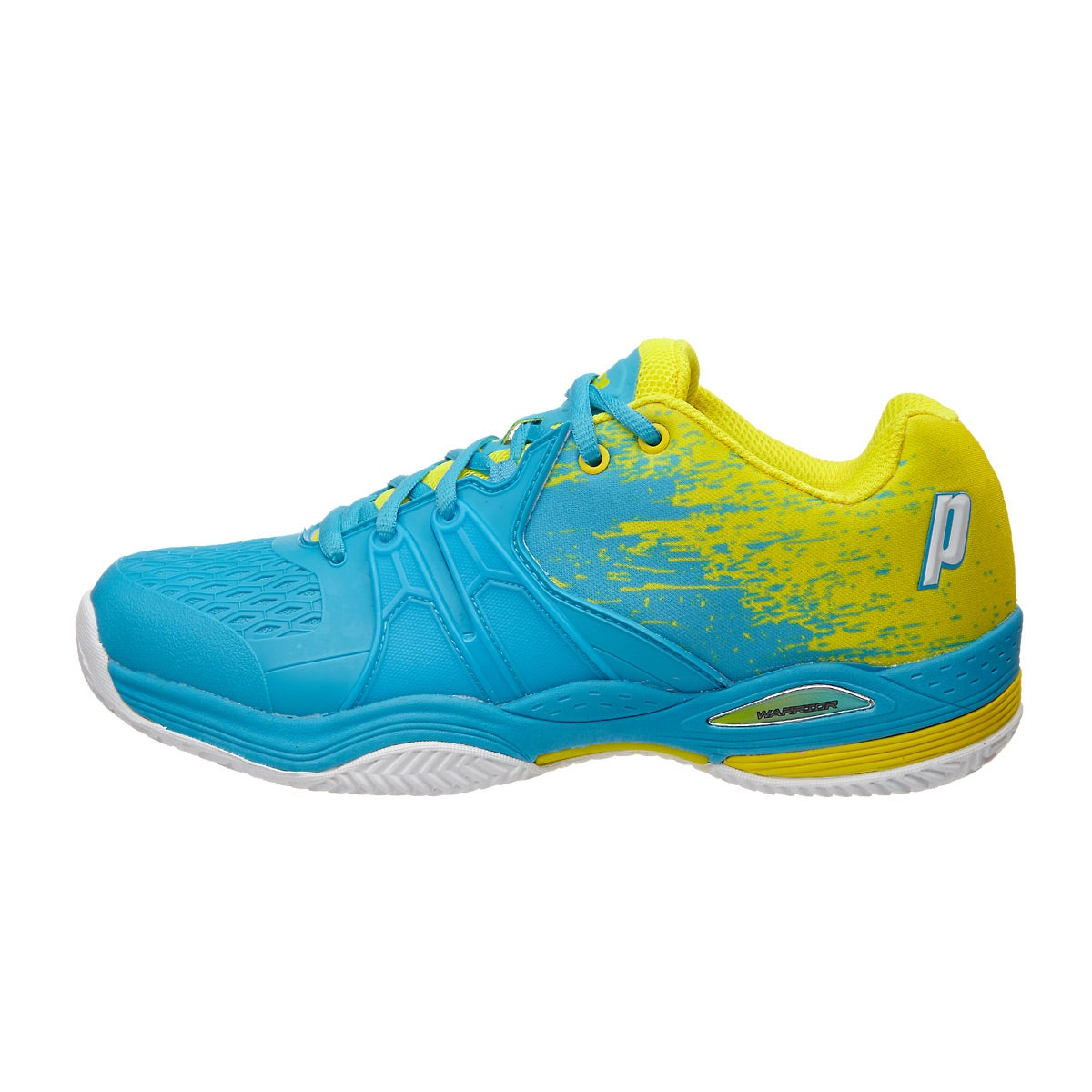 Blue And Yellow Shoes