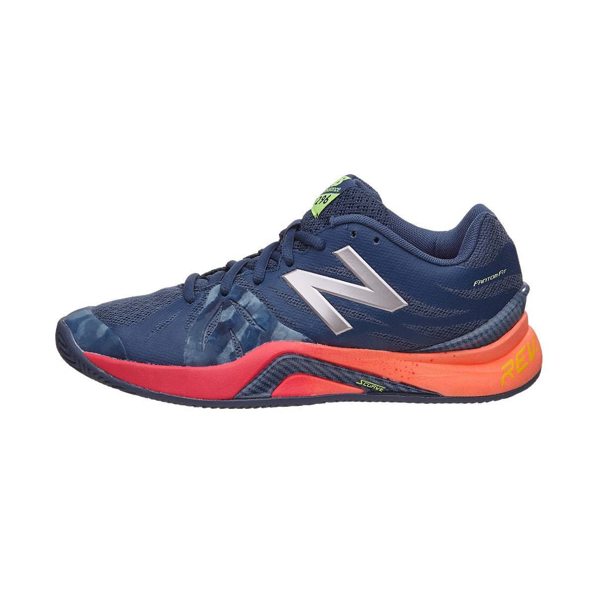 New Balance WC 1296v2 B Indigo/Pink Women's Shoe 360° View