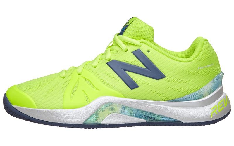 New Balance WC 1296v2 B Yellow/Grey Women's Shoe 360° View