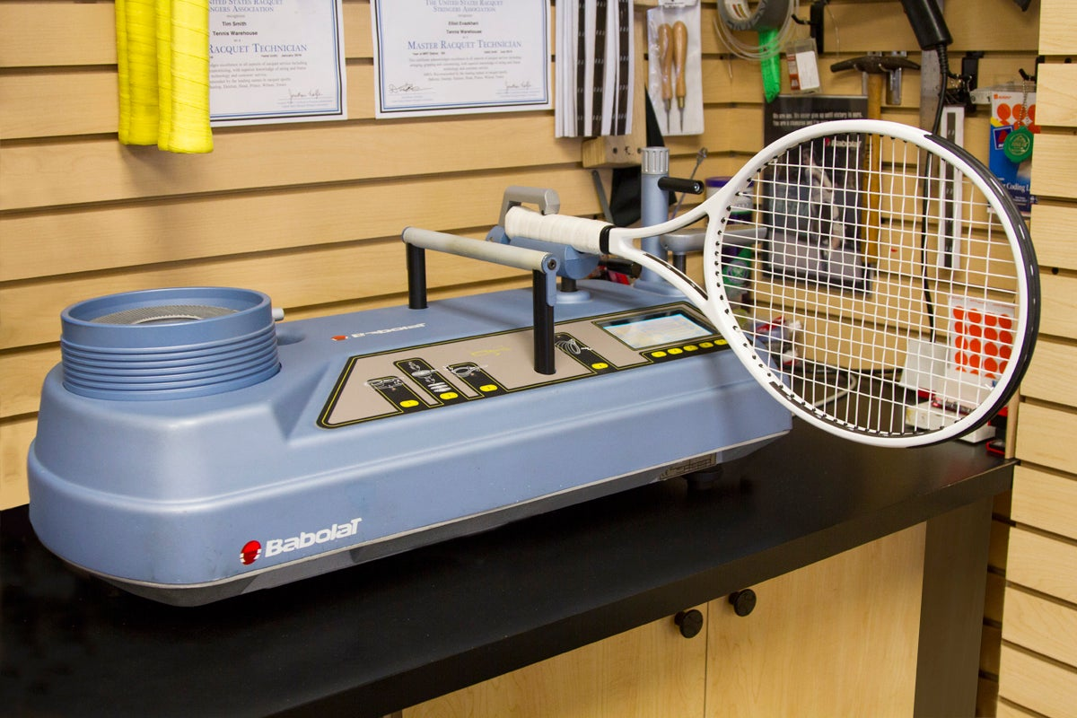 Customizing A Racquet Tennis Warehouse
