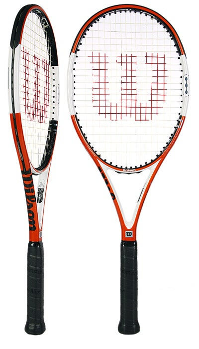 3 Tennisb/älle Wilson Tennisschl/äger Nitro Pro 103
