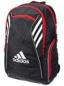 bf7d7cda312d adidas Tour Tennis Racquet Backpack Black Red