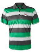 Fila Men's Fall Legends Striped Polo
