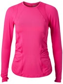 2174ced891c5 Lucky In Love Women's Core Contour Long Sleeve - Pink