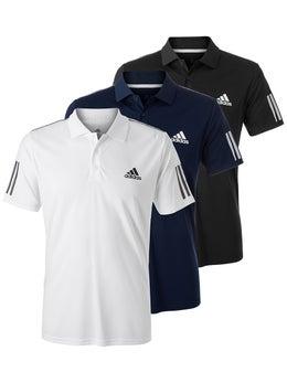 ADIDAS 3 STRIPES CLUB Polohemd Herren Sz XL Tennis Hemd