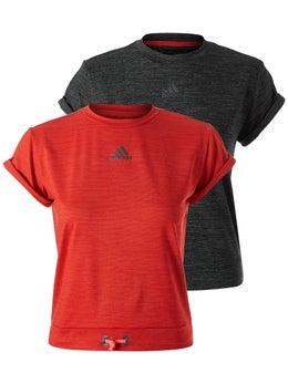Adidas D2M 3S Damen T Shirt core pink Damen Shirts