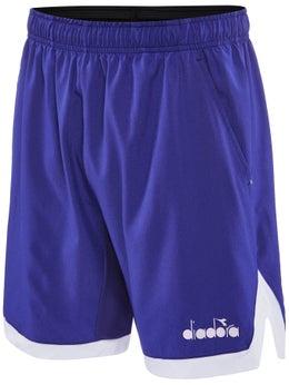 Diadora Bermuda Easy Herren Tennisshorts blau