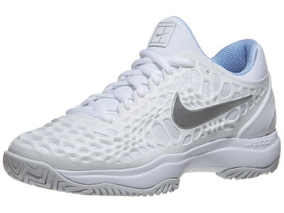 16657493d6bb6 Nike Air Zoom Cage 3 White/Platinum Women's Shoe