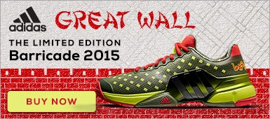 adidas Barricade Great Wall