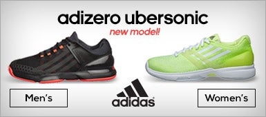 adidas Men's and Women's adizero Ubersonic Shoes
