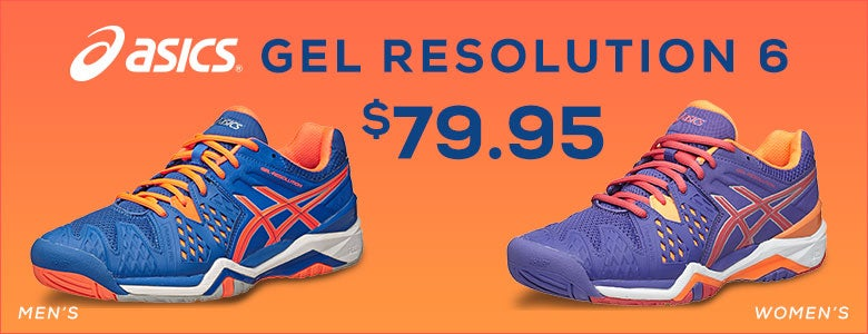 Asics Gel Resolution 6 Now Only $79.95