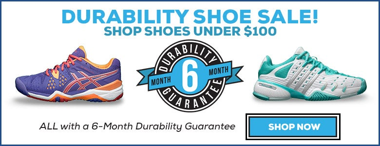Shop Shoes under $100 with a 6 month durability guarantee