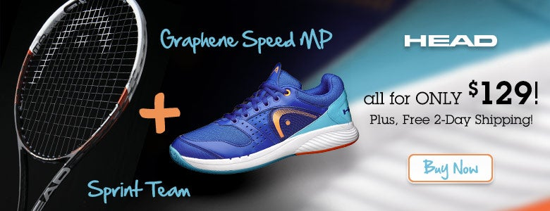 HEAD Graphene Speed and Sprint Pro for only $129!