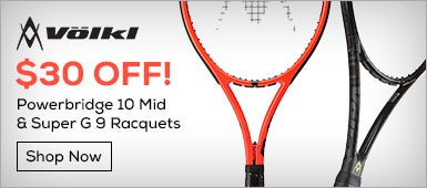 $30 Off! Powerbridge 10 Mid & Super G 9 Racquets