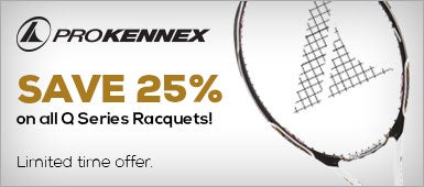 Prokennex Save 25% on all Q Series Racquets