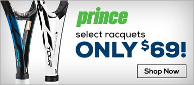 Prince Select Racquets Only $69